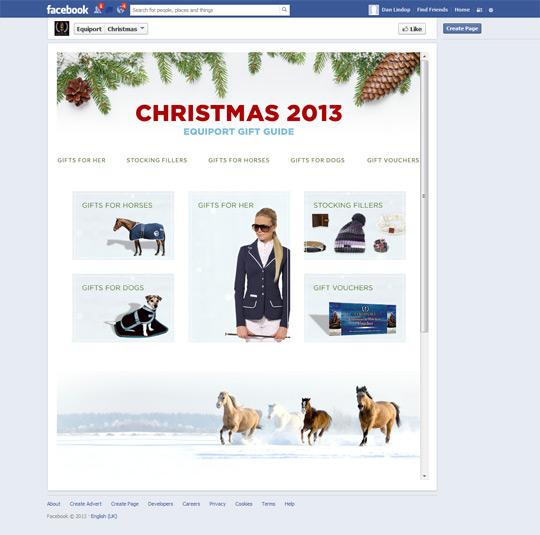 Equiport Custom Facebook App